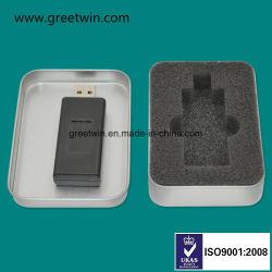 Черный диск USB, он отправляет сигнал GPS мини-блокирующее устройство GPS со светодиодной подсветкой