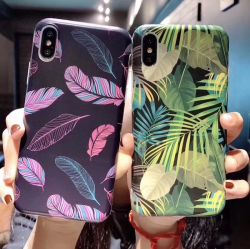 iPhone X/Xsmax/Xr/Samsung S10/Note9/Note8/M30/A50를 위한 IMD/Iml 광택이 없는 지상 주문 꽃 세포 또는 이동 전화 케이스