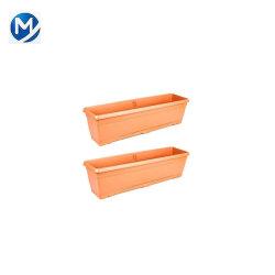 庭の野菜ハーブの長方形の花のプラント鍋のたらいプラスチックプランターボックスのためのプラスチック型
