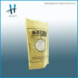 包装のためのResealableクラフト紙の薄板にされたアルミホイルのポリ袋か茶またはコーヒーまたは食糧パッケージ