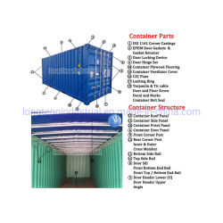 ISO Marine 20FT 40FT Shipping Container Spare Parts