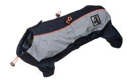 Dog T-shirt Pet tácticas de vestuário com bolsa Capa de Abajo