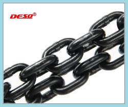Морской оборудование G80 легированная сталь черного подъемное звено цепи