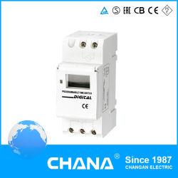 Ce RoHS et approuvé à l'AC 250V 12A Relais temporisateur programmable hebdomadaire