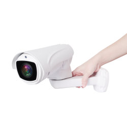 80m IRの間隔使用のVarifocal屋外のレンズのための防水IPのカメラが付いているH. 265 2MP 4X IP PTZの弾丸のカメラ
