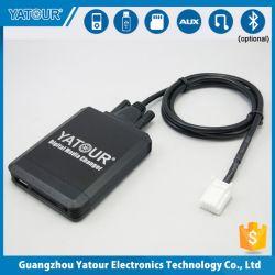 Yatour changeur de supports numériques, audio automobile avec l'iPod/iPhone/USB/SD/aux dans le lecteur MP3 numérique (YT-M07)