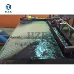 Тяжелые минералы встряхивания таблица для тяжести концентрации обработки