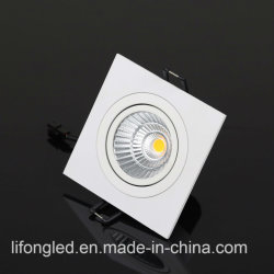 2017 Nuevos Productos Plaza de la mazorca de aluminio LED Downlight LED