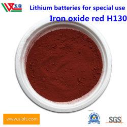 Het Rode Poeder van het Oxyde van het ijzer voor de Materialen van de Batterij van het Fosfaat van het Ijzer van het Lithium