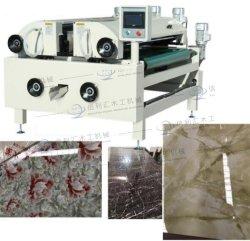 Macchina di vetro della copertura del rullo di vernice del rullo di rivestimento della macchina del rullo della stampatrice degli apparecchi di vetro bianchi a base d'acqua diretti della mobilia
