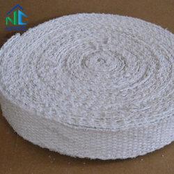 1.5Mm-6mm épaisseur isolation haute température Bio Fibre de céramique soluble de la bande avec l'adhésif pour l'étanchéité