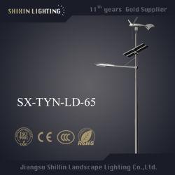 Падение с возможностью горячей замены оцинкованной стали солнечного ветра светодиодный индикатор на улице Hybrid с панели управления (SX-Тин-LD-65)