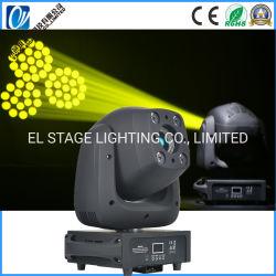 100W Spot LED movendo o farol dianteiro Adn 4*10W RGBW Lavagem com LED de iluminação para uma danceteria parte