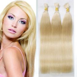 Extension de cheveux en vrac de 100 % vierge non transformés Remy Cheveux humains