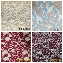 Hot Sale belle dentelle Royal tissu pour l'accessoire du vêtement