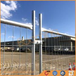 2100mm (H) *2400mm (W) treillis soudés en acier galvanisé panneau clôture temporaire