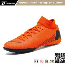 Nouveau design de haute qualité de tricotage de chaussures de football américain Turf Soccer 7151
