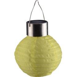 Decoração de jardim papel penduradas lanterna LED solares