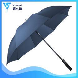 De wind Paraplu van het Golf, Auto Open Paraplu, 8 Paraplu's van de Reclame van de Glasvezel van Ribben