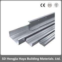 Fabricante China Precio al por mayor estructura de acero recubierto de zinc del bastidor de perfiles de acero galvanizado C C correas de soporte de techo