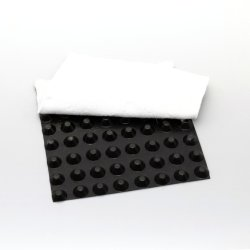 HDPE kuilvoerbord met non-woven geofabric