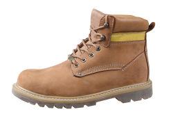 De Laarzen Ufd024 van de Veiligheid van de Teen van het Staal van het Metaal van het Leer van Goodyear