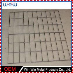 شاشة آمنة للنوافذ 5 × 5 معدنية ملحومة سلك مجعد من الفولاذ المقاوم للصدأ نسيج شبكي بسعر خرساني
