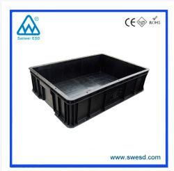 A ESD Prática caixa para Component Package / ESD Recipientes de PP para protecção Anti-Static usado