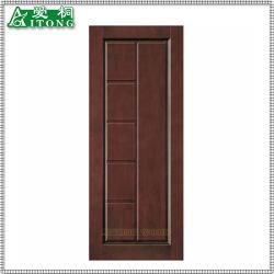 Intérieur de porte en bois solides/Porte en bois coupe-feu/feu de bois naturel plaqués les portes en bois