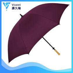 يعلن لعبة غولف مظلة مع مقبض مستقيمة خشبيّة لأنّ ترقية