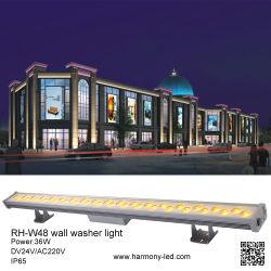 Красочный RGB 36Вт Светодиодные настенные шайбу для Architectual наружного освещения
