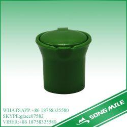 24мм РР зеленый цилиндрический пластмассовый колпачок для молока