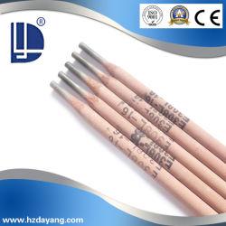 La cal de electrodos de soldadura de acero inoxidable de titanio E308L-16