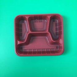 Factory Derectly desechables Venta de Alimentos Wihi PP Contenedor tapa