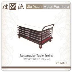 Factory Price Rectangular Table Trolley (JY-D002)