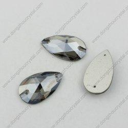Drop Sliver Shade Crystal Coser sobre las piedras para vestidos