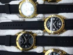 주문 로고를 가진 디지털 무선 제어 손목 시계