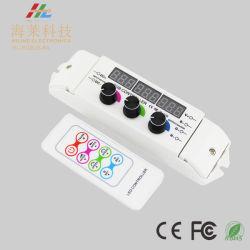 12-24V RF sem fios sensível 6A*3CH Controlador de LED do botão