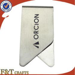 Cheap vrac Logo personnalisé Clip-papier métallique en acier inoxydable