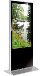 Heißer Sale-43-Inch HD LCD LED androider WiFi Netz-Anzeigen-Spieler-Fußboden, der Spieler-DigitalSignage bekanntmachend steht