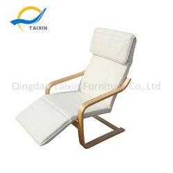 Estilo moderno mobiliário interior/exterior cadeira de madeira para um bom descanso