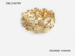 جديد حارّة عمليّة بيع نمط تصميم نوع ذهب يصفّى زنك سبيكة سوار