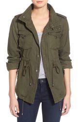 Mezcla de algodón y ropa de mujer chaqueta militar