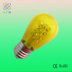 LED S14 Yellow Painted Color für Party String Light Bulbs