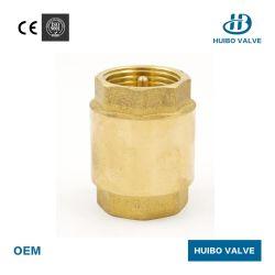 1/2''-4''polegada da válvula de retenção de metal forjado com inserto de latão
