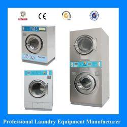 Vollautomatische Zeichen-Karten-Münzenwaschmaschine für Waschsalon-Wäscherei-System-Münzen-Unterlegscheibe-Trockner
