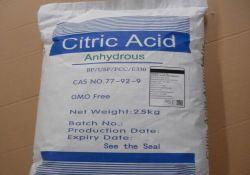Monoidrato acido anidro/citrico dell'acido citrico del commestibile