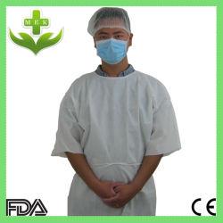 Одноразовые пациента платье короткие втулки с помощью обвязных