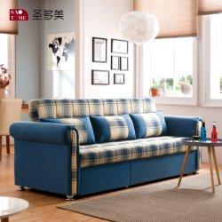 Soggiorno moderno, divano letto pieghevole