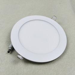 12W 하이 루멘 조명 LED 천장 매입형 스팟 조명 LED 둥근 패널 천장 다운라이트